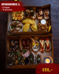 openingsbox Hapjes roosendaal pinxos bestellen